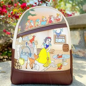 Loungefly Snowhite and seven dwarfs backpack